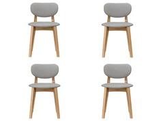 "Комплект из 4 стульев ""Xavier"" My Furnish"
