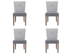 "Комплект из 4 стульев ""Button"" My Furnish"