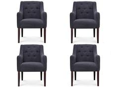 """Комплект из 4 стульев """"Toledo"""" My Furnish"""