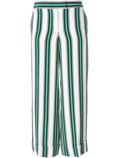 широкие брюки в полоску Salvatore Ferragamo