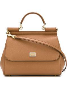 средняя сумка-тоут Sicily Dolce & Gabbana