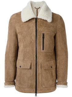 куртка с отделкой из овчины Ami Alexandre Mattiussi
