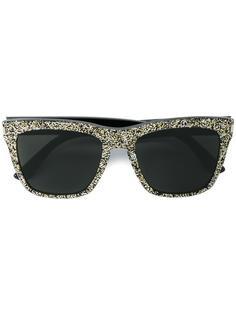солнцезащитные очки SL 137 Devon с блестками Saint Laurent Eyewear