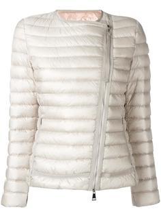 куртка-пуховик без воротника Moncler