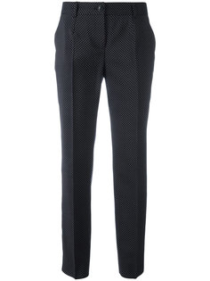 брюки в горох Dolce & Gabbana