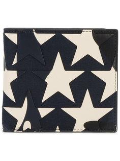 бумажник со звездами Valentino