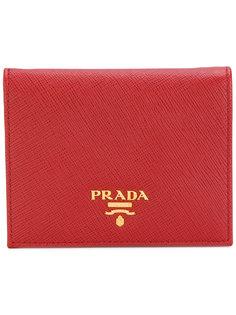 классический кошелек с логотипом Prada