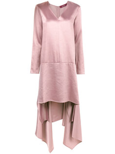 сатиновое платье асимметричного кроя Bobbie Sies Marjan