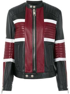 байкерская куртка Les Hommes