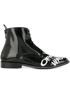 ботинки Челси с графическим принтом Joshua Sanders