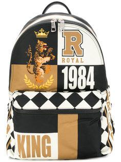 рюкзак с комбинированным принтом Dolce & Gabbana