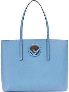 сумка-шоппер с логотипом Fendi