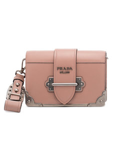 pink mini Cahier shoulder bag Prada