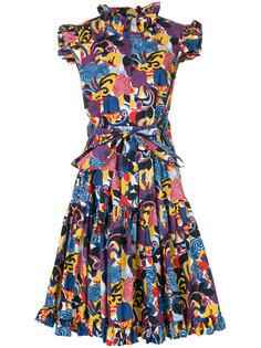 платье с принтом Zoo La Doublej