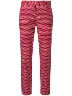 классические брюки с вышивкой Piazza Sempione