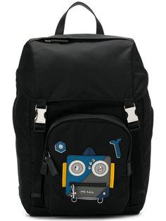 рюкзак с аппликацией Prada Robot  Prada
