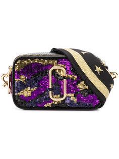 сумка Snapshot с отделкой пайетками Marc Jacobs