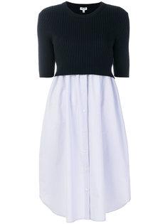 многослойное платье Kenzo