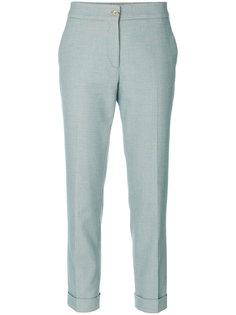 брюки с узором Etro