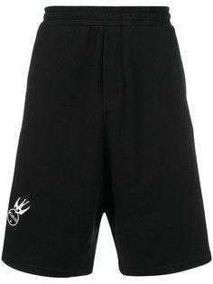 шорты с заплатками McQ Alexander McQueen