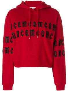 толстовка с капюшоном и вышивкой McQ Alexander McQueen
