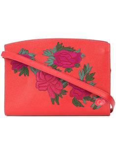 сумка на плечо с цветочными нашивками Lizzie Fortunato Jewels