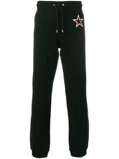 спортивные брюки с заплатками  Givenchy