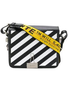 сумка на плечо в полоску Off-White