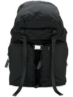 рюкзак с карманами на молнии Prada