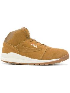 кроссовки на шнуровке Fila