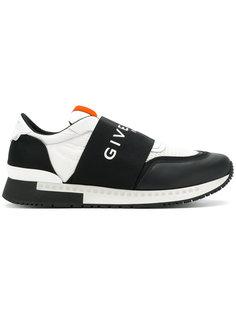 кроссовки с логотипом на ремешке Givenchy