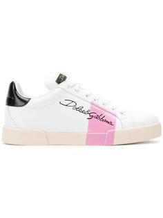 кроссовки с полоской Dolce & Gabbana