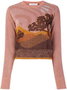 свитер Landscape  Coach