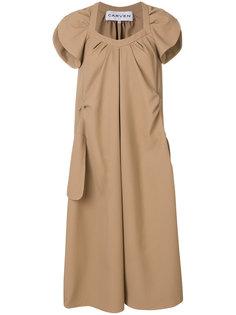 платье объемного кроя Carven