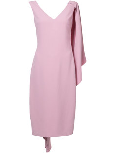 платье-футляр кейп Cushnie Et Ochs