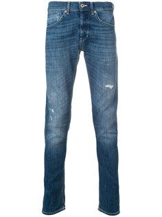 джинсы с эффектом потертости Dondup