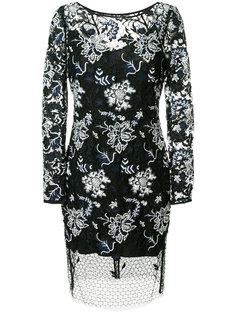 платье с кружевным слоем Dvf Diane Von Furstenberg