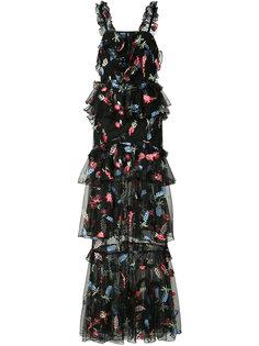длинное платье She Moves Me Alice Mccall