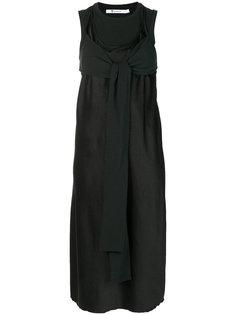 платье с завязками  Alexander Wang