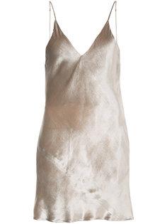 бархатная сорочка-мини Fleur Du Mal