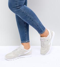 Бежевые нейлоновые кроссовки Reebok Classic - Бежевый