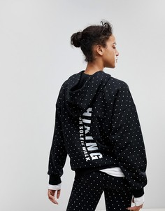 Худи в горошек adidas Originals X Pharrell Williams Hu - Черный