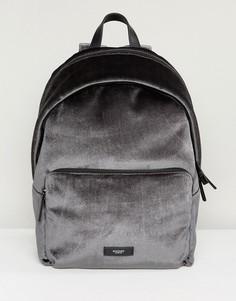 Серый бархатный рюкзак Knomo Paddington Bathurst - Серый