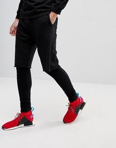 Леггинсы с шортами Fairplay - Черный