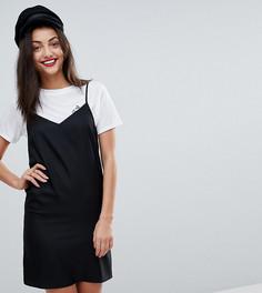 Платье-комбинация мини ASOS TALL - Черный