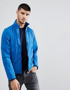 Синяя куртка на молнии PS Paul Smith - Синий