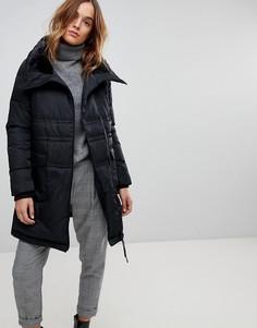 Дутая куртка с высоким воротником Vero Moda - Черный