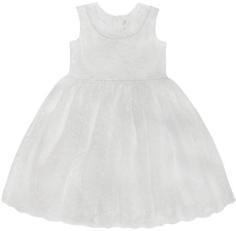 Платье детское для эпизодического использования Barkito «Праздничное», белое