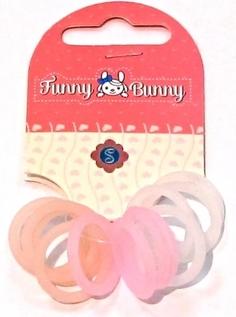 Резинки для волос Funny Bunny 12 шт. в ассортименте