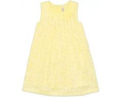 "Платье для девочки Barkito, ""Букет"", желтое"